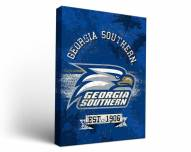 Georgia Southern Eagles Banner Canvas Wall Art
