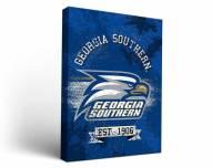 Georgia Southern Eagles Banner Canvas Wall Art