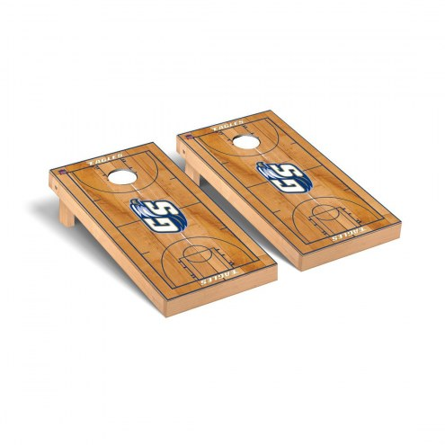 Georgia Southern Eagles Basketball Court Cornhole Game Set