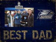 Georgia Southern Eagles Best Dad Clip Frame