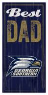 Georgia Southern Eagles Best Dad Sign