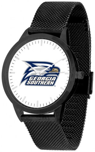 Georgia Southern Eagles Black Mesh Statement Watch