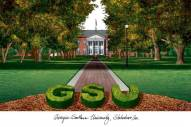 Georgia Southern Eagles Campus Images Lithograph