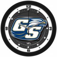 Georgia Southern Eagles Carbon Fiber Wall Clock