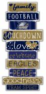 Georgia Southern Eagles Celebrations Stack Sign