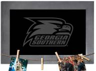 Georgia Southern Eagles Chalkboard with Frame