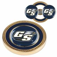 Georgia Southern Eagles Challenge Coin with 2 Ball Markers