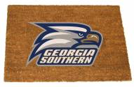 Georgia Southern Eagles Colored Logo Door Mat