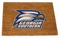 Georgia Southern Eagles Colored Logo Door Mat
