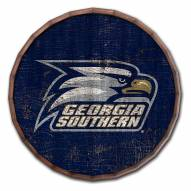 "Georgia Southern Eagles Cracked Color 24"" Barrel Top"
