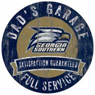 Georgia Southern Eagles Dad's Garage Sign