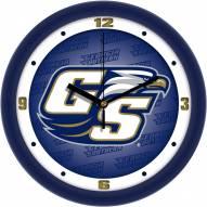 Georgia Southern Eagles Dimension Wall Clock
