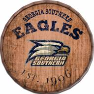 """Georgia Southern Eagles Established Date 16"""" Barrel Top"""