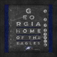 Georgia Southern Eagles Eye Chart