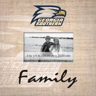 Georgia Southern Eagles Family Picture Frame