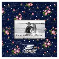 "Georgia Southern Eagles Floral 10"" x 10"" Picture Frame"