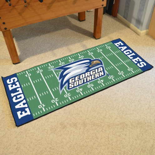 Georgia Southern Eagles Football Field Runner Rug