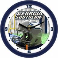 Georgia Southern Eagles Football Helmet Wall Clock