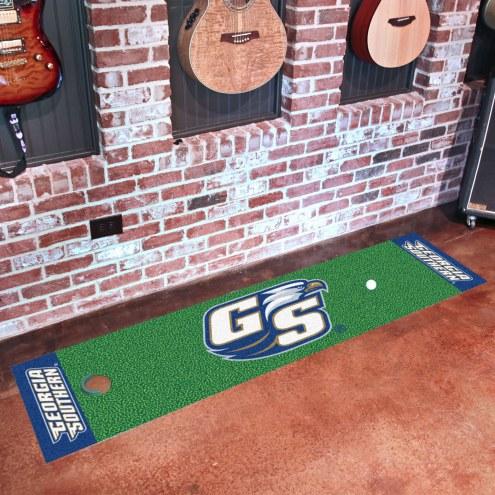 Georgia Southern Eagles Golf Putting Green Mat