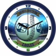 Georgia Southern Eagles Home Run Wall Clock