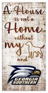 Georgia Southern Eagles House is Not a Home Sign
