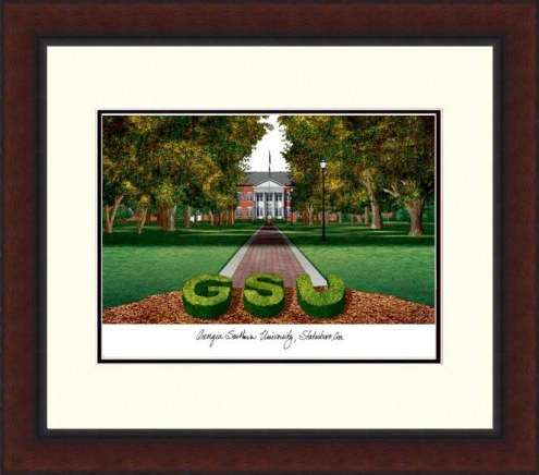 Georgia Southern Eagles Legacy Alumnus Framed Lithograph