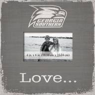 Georgia Southern Eagles Love Picture Frame