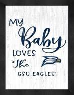 Georgia Southern Eagles My Baby Loves Framed Print