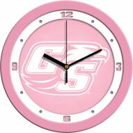 Georgia Southern Eagles Pink Wall Clock
