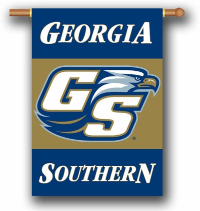 "Georgia Southern Eagles Premium 28"" x 40"" Two-Sided Banner"