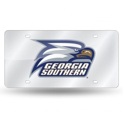 Georgia Southern Eagles Laser Cut License Plate