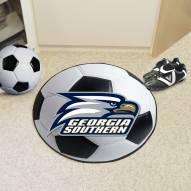 Georgia Southern Eagles Soccer Ball Mat