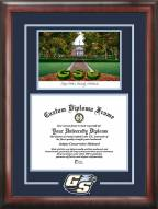 Georgia Southern Eagles Spirit Diploma Frame with Campus Image