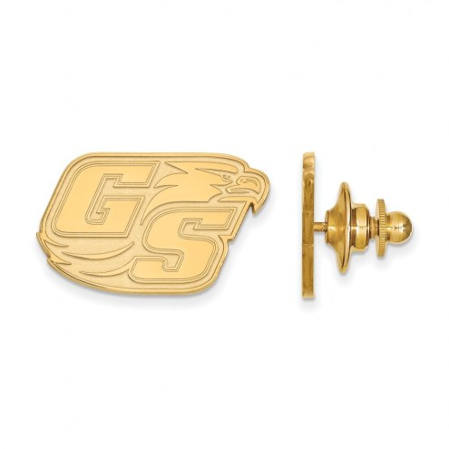 Georgia Southern Eagles Sterling Silver Gold Plated Lapel Pin
