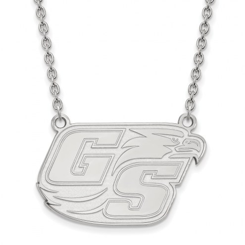 Georgia Southern Eagles Sterling Silver Large Pendant Necklace
