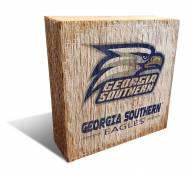 Georgia Southern Eagles Team Logo Block