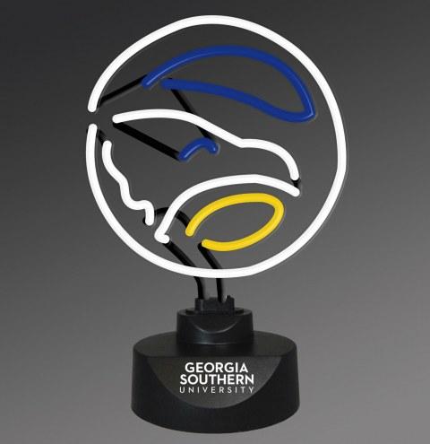Georgia Southern Eagles Team Logo Neon Lamp