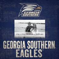"Georgia Southern Eagles Team Name 10"" x 10"" Picture Frame"