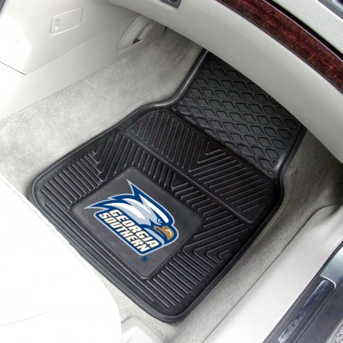 Georgia Southern Eagles Vinyl 2-Piece Car Floor Mats