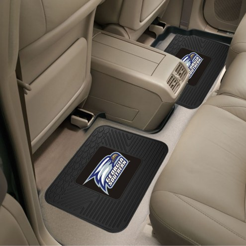 Georgia Southern Eagles Vinyl 2-Piece Rear Floor Mats