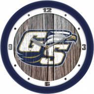 Georgia Southern Eagles Weathered Wood Wall Clock