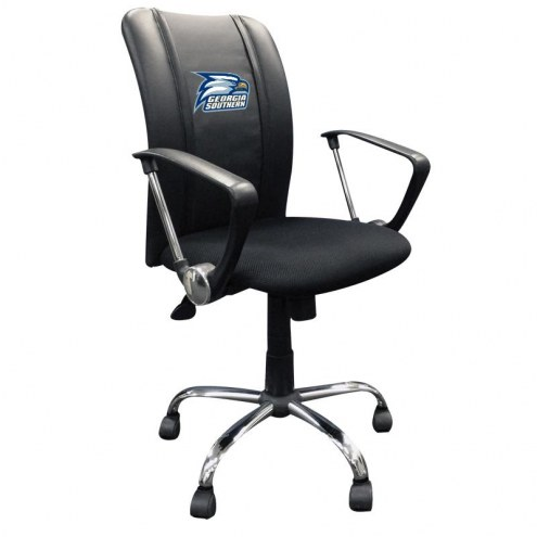 Georgia Southern Eagles XZipit Curve Desk Chair with Eagles Logo