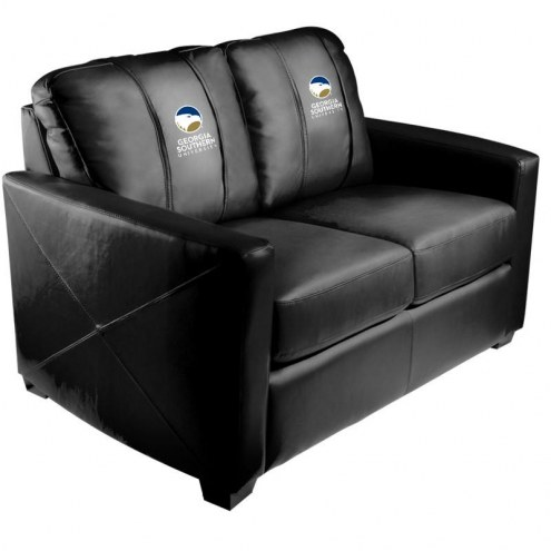 Georgia Southern Eagles XZipit Silver Loveseat