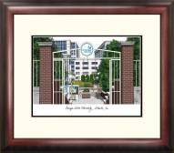 Georgia State Panthers Alumnus Framed Lithograph