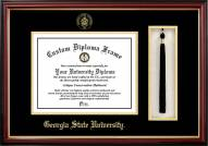 Georgia State Panthers Diploma Frame & Tassel Box