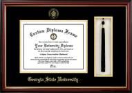 Georgia State Panthers Diploma Frame & Tassel Box