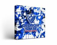 Georgia State Panthers Fight Song Canvas Wall Art