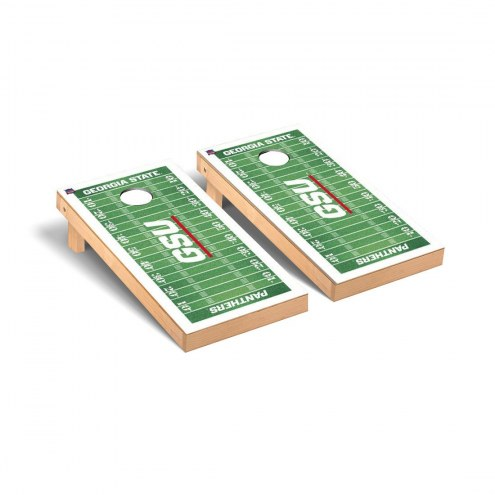 Georgia State Panthers Football Field Cornhole Game Set