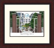 Georgia State Panthers Legacy Alumnus Framed Lithograph