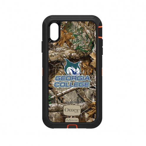 Georgia State Panthers OtterBox iPhone XS Max Defender Realtree Camo Case